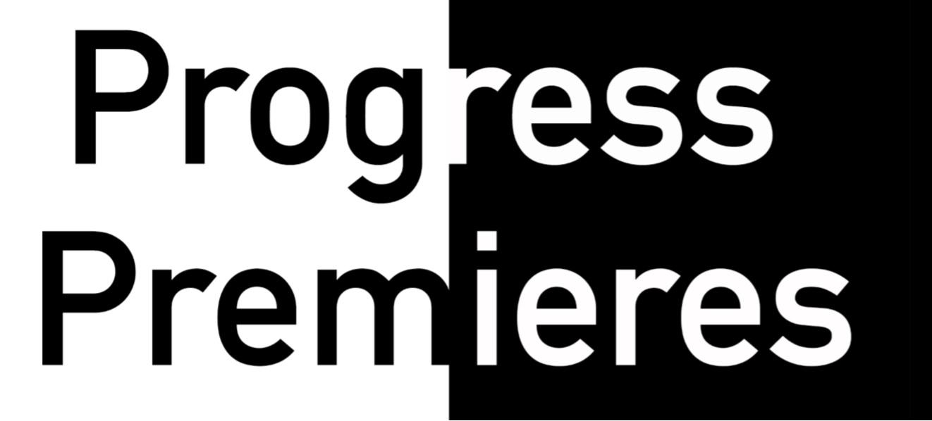Progress Premieres 2018
