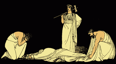 The murder of Agamemnon