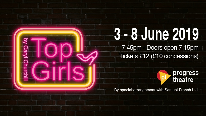 Top Girls banner
