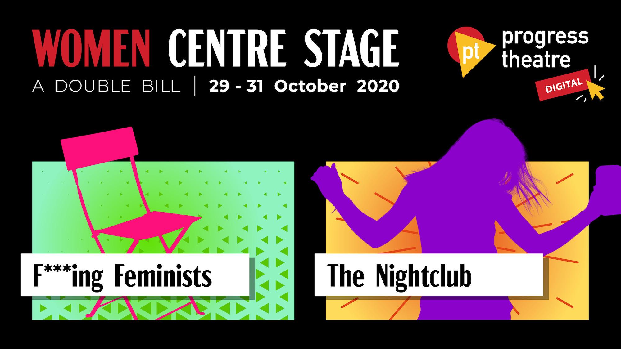 Women Centre stage graphic