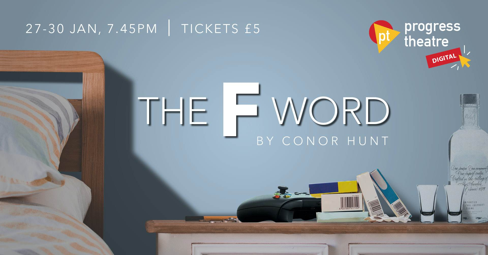 The F Word banner